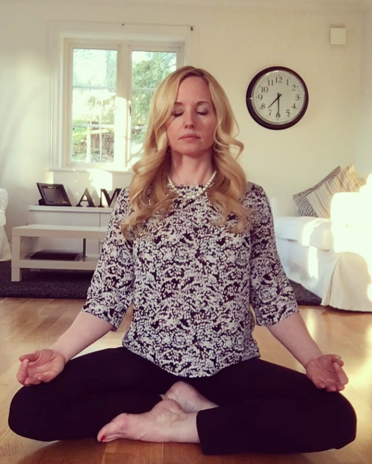 Denise meditation - keep calm and breathe